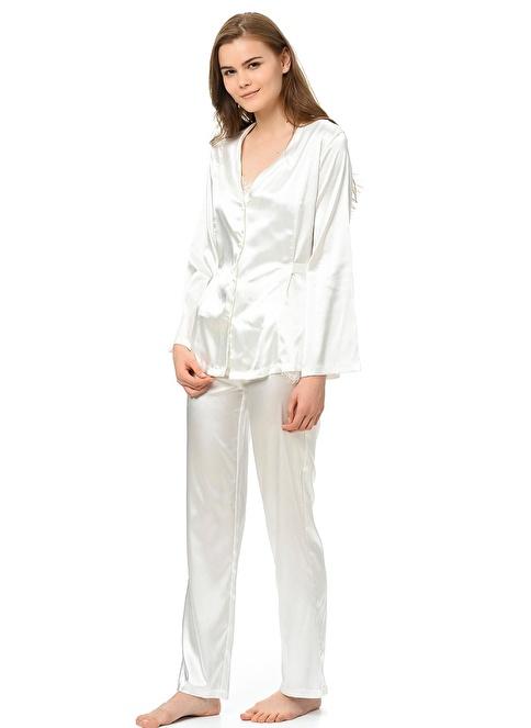 Magic Form Pijama Takım Ekru